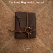 The Brass Ring Kodiak Journal by Trekker Leather Co