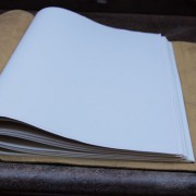 jumbo leather sketchbooks by Trekker Leather Co