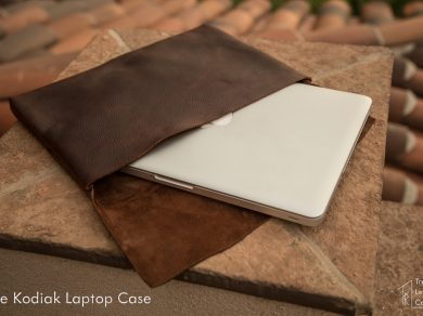 Kodiak Leather Laptop Sleeve