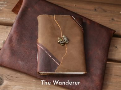"The ""Wanderer"" Leather Journal"