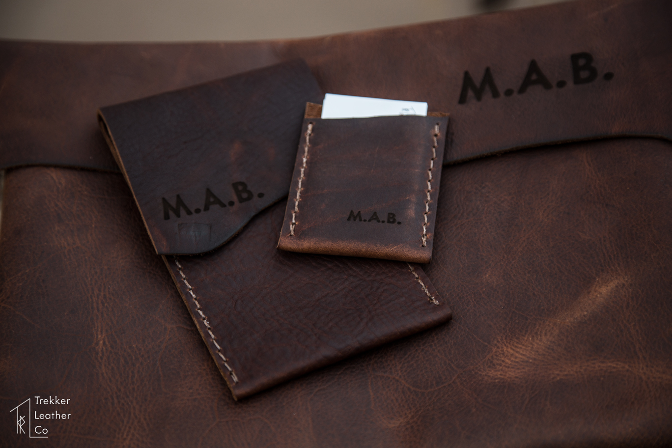 Leather Business Card Sleeve
