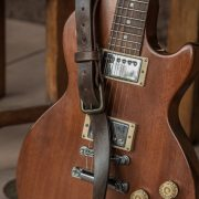 Leather Electric Guitar Strap by Trekker Leather Co