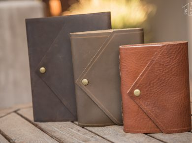 The Envelope Leather Journals